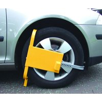 Wheel Clamps - Square Face -Yellow