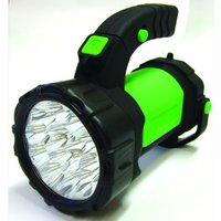 15+12 LED Battery Operated Spotlight / Work light- Swivel Handle/Stand