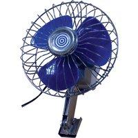 """12v Car Fan-6"""" De-Luxe Oscillating Type"""