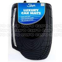 Sport Rubber Mat Set with Black carpet insert