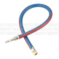AH2R Air Leader Hose 600mm x 8mm with Tail Piece   1 4BSP Union