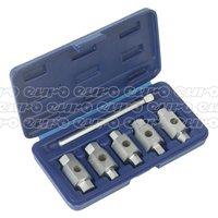 AK659 Oil Drain Plug Key Set 6pc Double-Ended