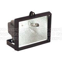 MD500C Tungsten/Halogen Floodlight with Wall Bracket 500W/230V