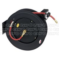 SA85 Retractable Air Hose Steel Reel 20mtr 10mm ID Rubber Hose