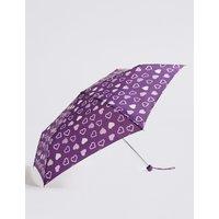 Heart Print Umbrella with Stormwear™ purple mix