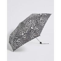 Heart Print Umbrella with Stormwear™ black mix