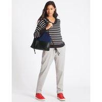 Sporty Shopper Bag navy mix