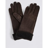 Leather Gloves chocolate
