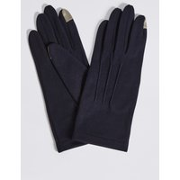 Touchscreen Jersey Gloves navy