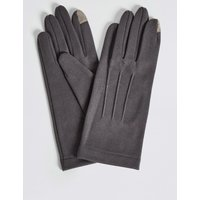 Touchscreen Jersey Gloves grey