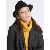 Buckle Winter Hat with Thinsulate™ black