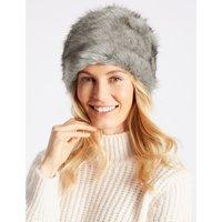 Fur Cossack Hat grey