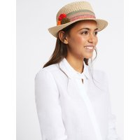 Trilby Hat natural mix