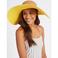 Colour Block Floppy Hats yellow