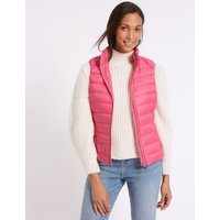 Down & Feather Gilet with Stormwear™ very pink