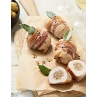 4 British Turkey Paupiettes with Caramelised Red Onion Stuffing