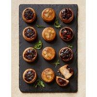 Mini Chutney Topped Pork Pie Selection (Serves 12)