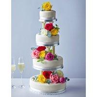 Traditional Wedding Cake - Medium Tier (Serves 24)