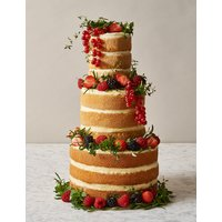 Naked Cake Vanilla 3 Tier (Pre-Order: Available from 27th February 2018)