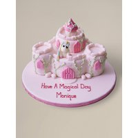 Fairytale Castle Cake (Serves 36)