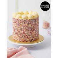 Rainbow Layers Cake