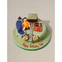 Gardening Cake (Serves 32)