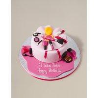 Make Up Bag Cake (Serves 25)