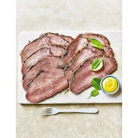 From The Deli Sirloin of Rare Roast Beef with a Light Black Peppercorn Crust (6-8 Pieces)