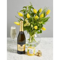 The Bucklebury Celebration Gift with Flowers and Prosecco