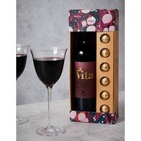 Red Wine & Belgian Chocolate Gift Set