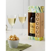 White Wine & Belgian Chocolates Gift Set at Marks and Spencer Online