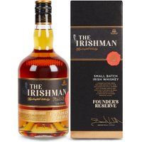 The Irishman Founders Reserve Irish Whiskey - Single Bottle