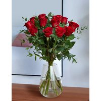 The Collection Dozen Freedom Valentine's Roses
