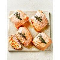 Lochmuir Salmon Paupiettes with Butternut Squash & Mascarpone