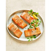 Wild Alaskan Salmon Fillets at Marks and Spencer Online