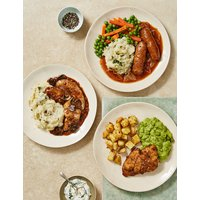 Count on Us Meal Selection (Serves 3) at Marks and Spencer Online