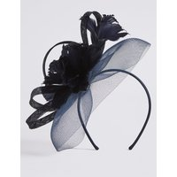 M&S Collection Diamanté Flower Fascinator