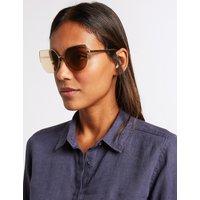 M&S Collection Semi Rimless Cat Eye Sunglasses