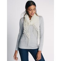 M&S Collection Butterfly Lace Scarf