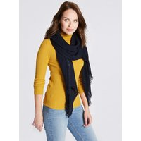 M&S Collection Textured Crinkle Scarf