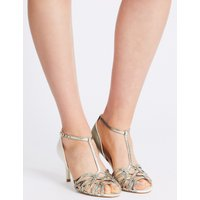 M&S Collection Stiletto Caged Sandals