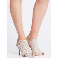 M&S Collection Stiletto Vamp Lace Sandals