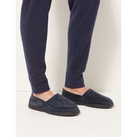 M&S Collection Big & Tall Slip-on Slippers with Thinsulate