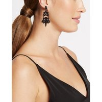 M S Collection Chandelier Drop Earrings