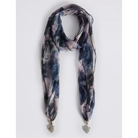 M&S Collection Pretty Petal Scarf Necklace
