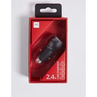 M&S Collection USB Car Charger