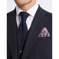 M&S Collection Pure Silk Floral Pocket Square