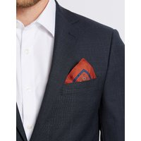 M&S Collection Pure Silk Printed Pocket Square