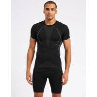 M&S Collection Active Short Sleeve Vest