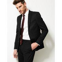 M&S Collection Black Slim Fit Jacket